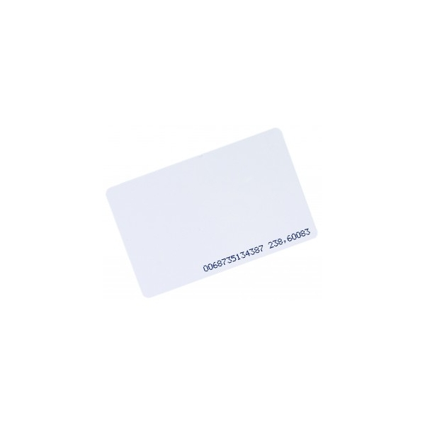CALT num karta zbliżeniowa biała Unique 125KHz z numerem