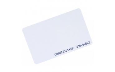 UNIQUE karta zbliżeniowa biała Unique 125KHz z numerem