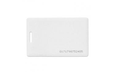UNIQUE karta Clamshel gruba zbliżeniowa biała Unique 125KHz