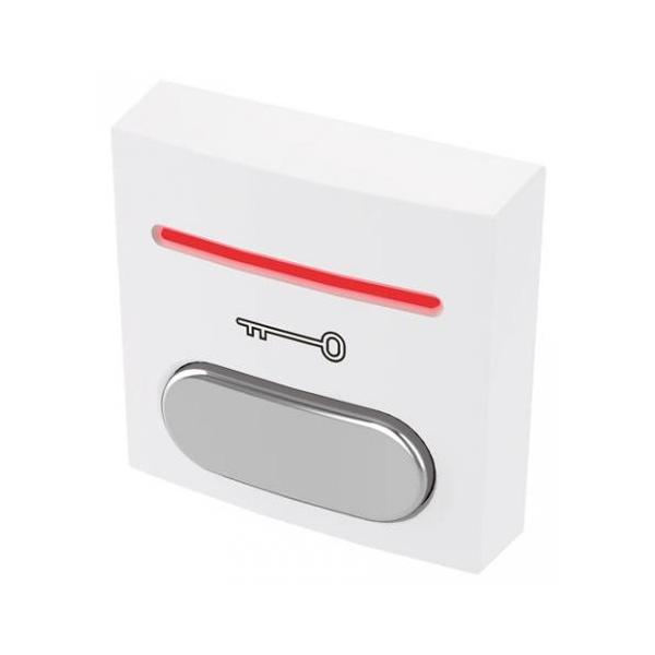 BOPO LED podświetlany przycisk wyjścia plastikowy styki NO+NC