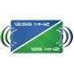 MIFARE &UNIQUE Karta dualna biała z numerem 13,56MHz &125 kHz