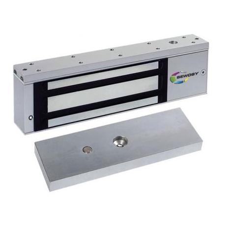 600M Zwora elektromagnetyczna 550kg z przekaźnikiem i sygnalizacją LED