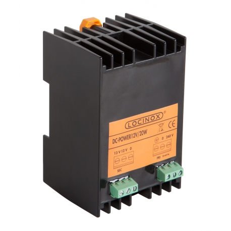 TRANSFORMATOR 12V I 13V DC do bram i ogrodzeń Locinox®