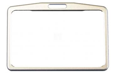 ETUI na kartę zbliżeniową kolor srebrny, poziome
