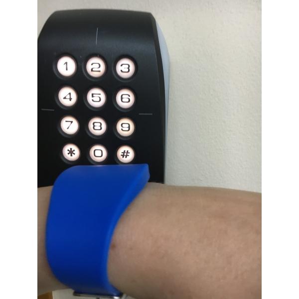 OSz zegarek basenowy silikonowy zapinany Unique 125kHz