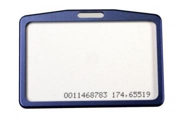 ETUI na kartę zbliżeniową kolor niebieski, poziomy