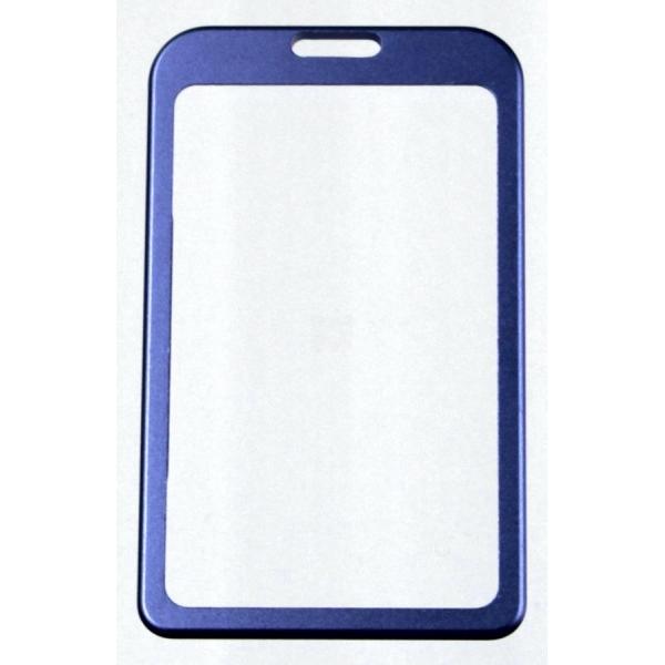 ETUI na kartę zbliżeniową kolor niebieski pionowe